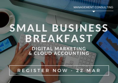 Getting started with Digital Marketing & Cloud Accounting Breakfast